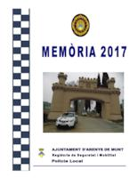 Memòria Policia Local 2017